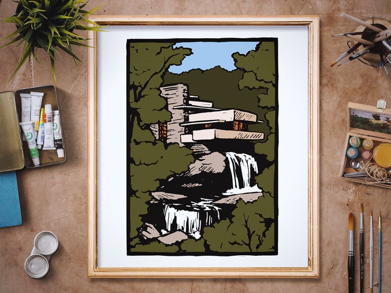 Fallingwater - Commission by Fallingwater Museum Store