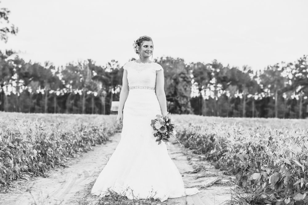 Raleigh, NC Wedding Photographer, Country Vintage Bridal