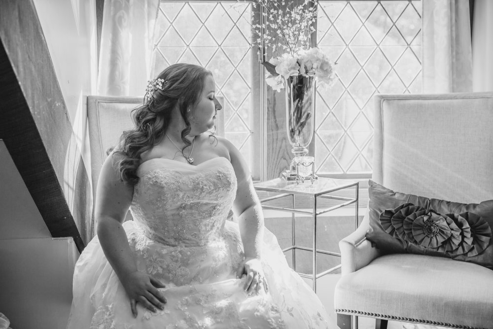 Castle McCulloch Raleigh, NC Bridal Photographer