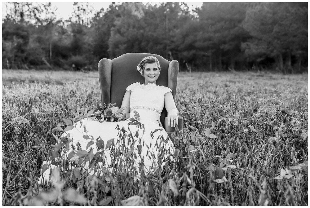 Vintage Bridal Session Raleigh NC Photographer