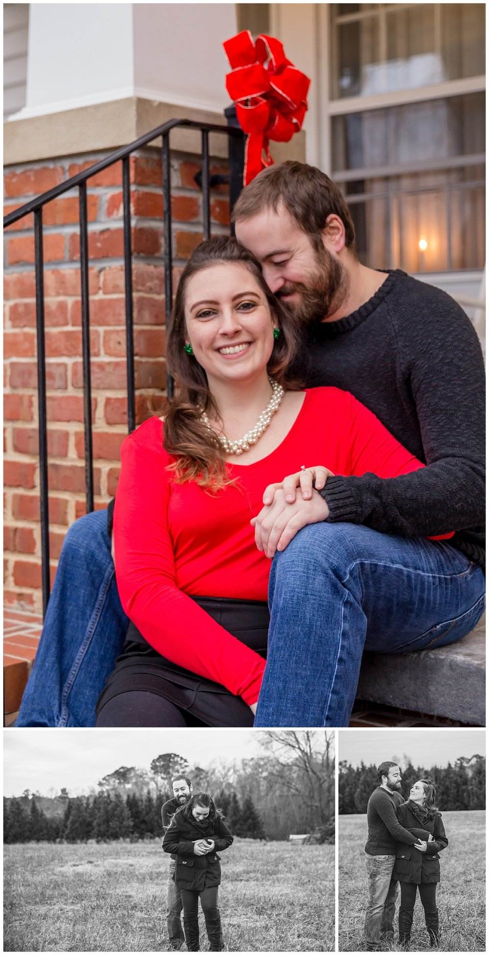 Rand-Bryan House Engagement , Garner NC Photographer