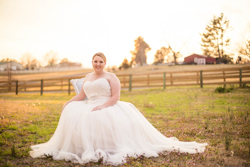 Carolina Moon Vintage Bridal Pictures , Raleigh NC Wedding Photographer