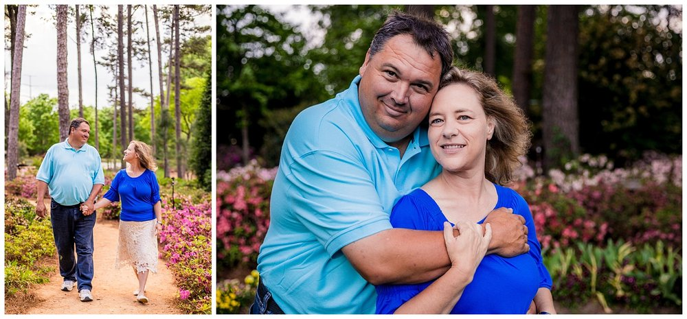 WRAL Azalea Gardens Photography