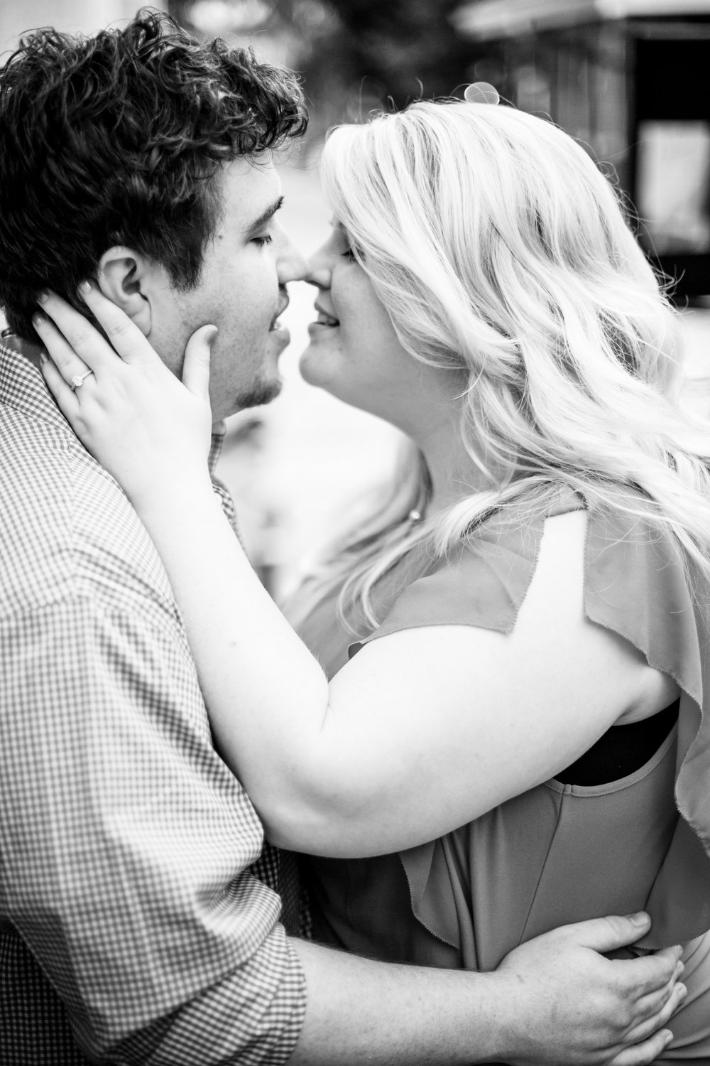 Moore Square Engagement, Downtown Raleigh, NC Wedding Photographer