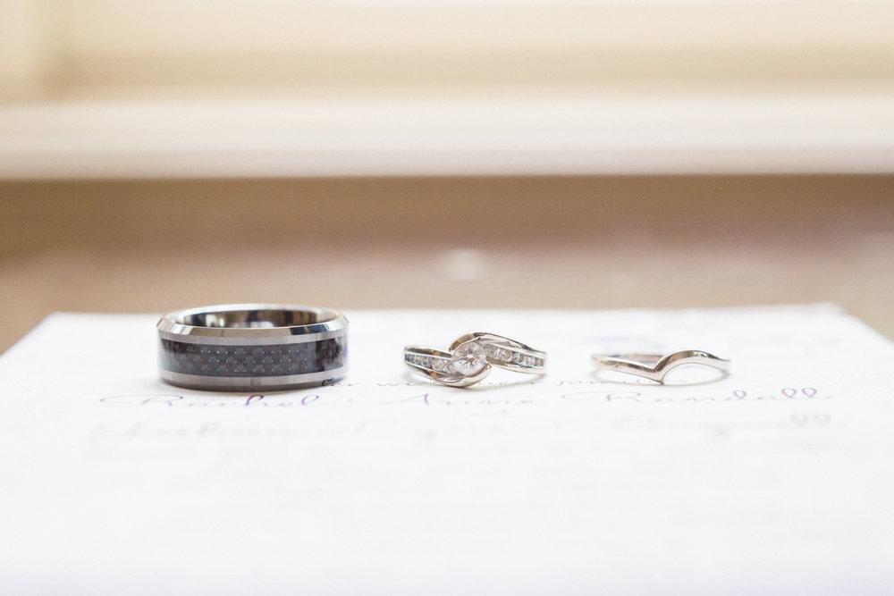 Wedding Day Rings , Fuquay Varina NC Photographer