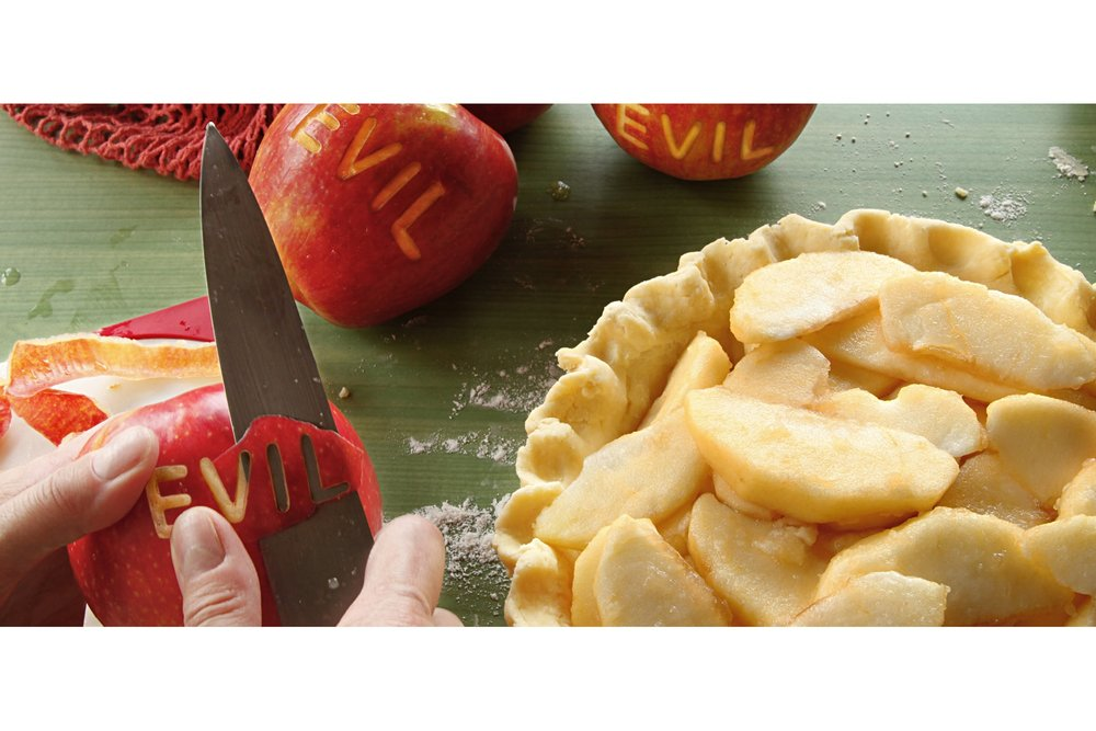 Evil Apple Pie Peel