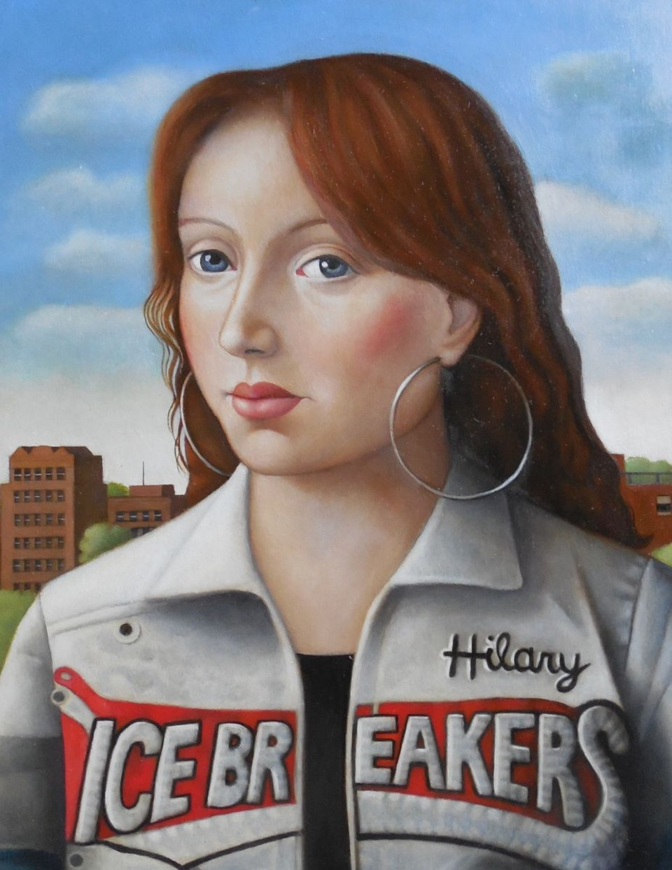 Young Woman in Icebreakers Jacket
