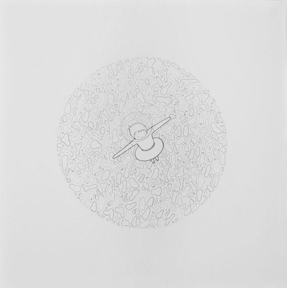 Untitled (Circle with Bacteria)