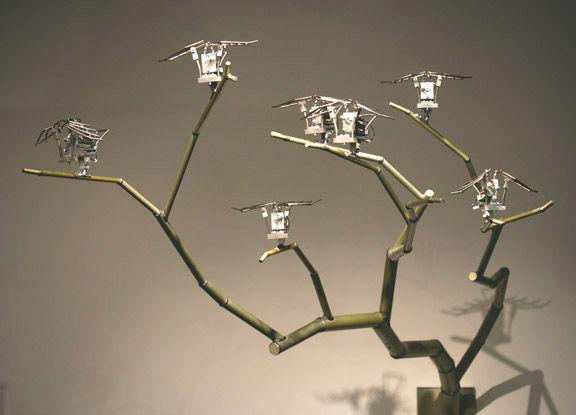 Jacaranda | Lonized aluminium, stainless steel, timed motors and LED's.jpg