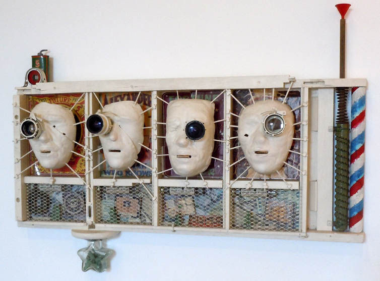 Soldiers of Fortune | Wood, clay glass, military optics.jpg
