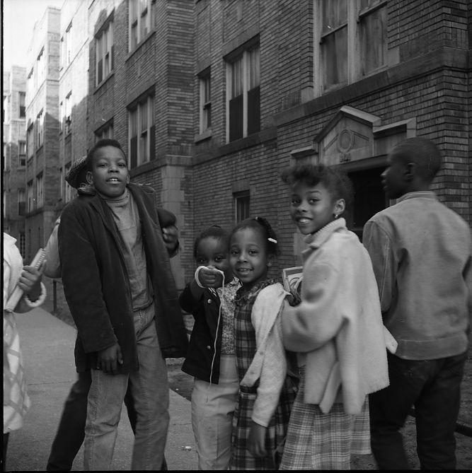 Chicago (Children on Street) April 1968
