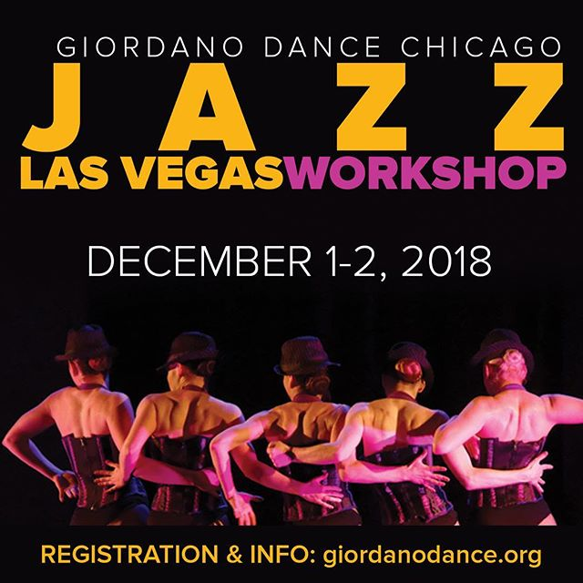 @giordanodancechicago is coming to Las Vegas - an incredible opportunity for the #lasvegasdancecommunity! Two days of American Jazz Dance Education...I wish I could be there to take this! Don't miss out; visit giordanodance.org for more information. 💚 . . . #americanjazzdance #jazzdanceisalive #giordanodancechicago #lasvegasdance
