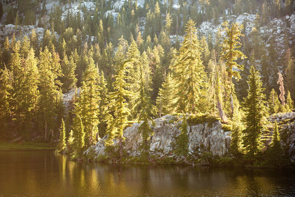 Ward Lake, Trinity Alps Wilderness