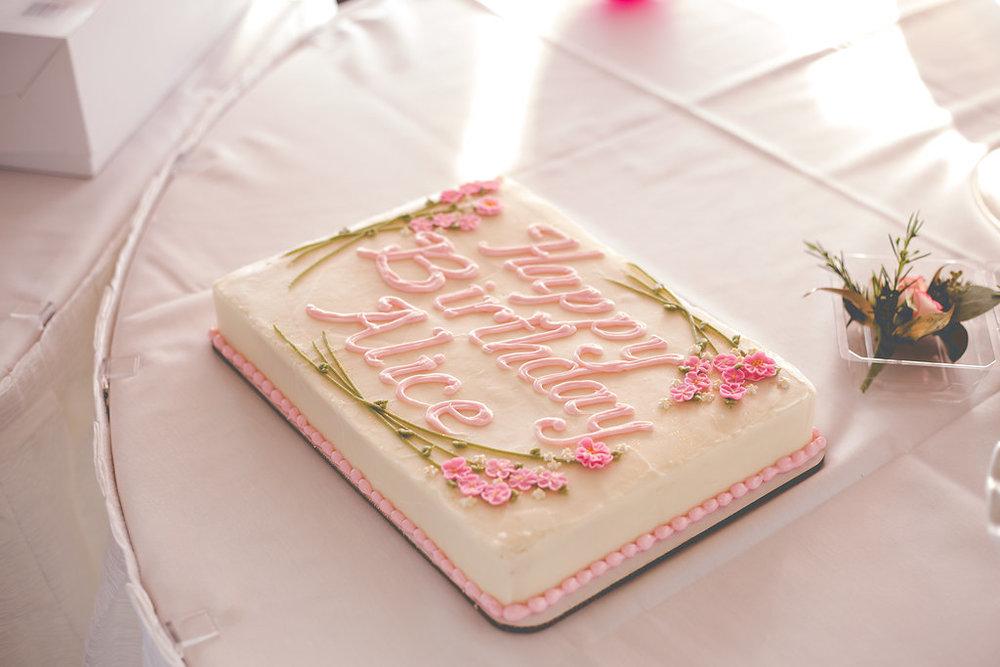Cake made by  Cakes de Fleur