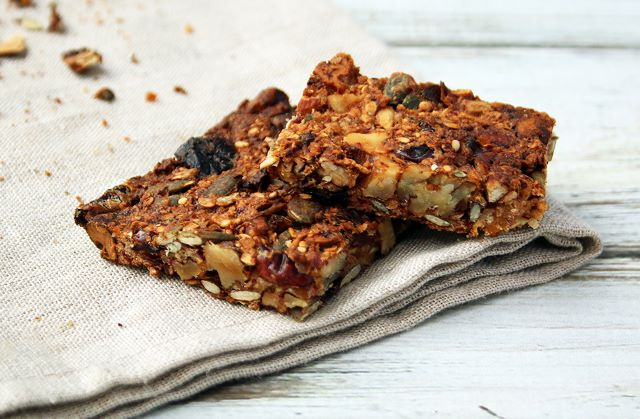 granola breakfast bars vegan plant based