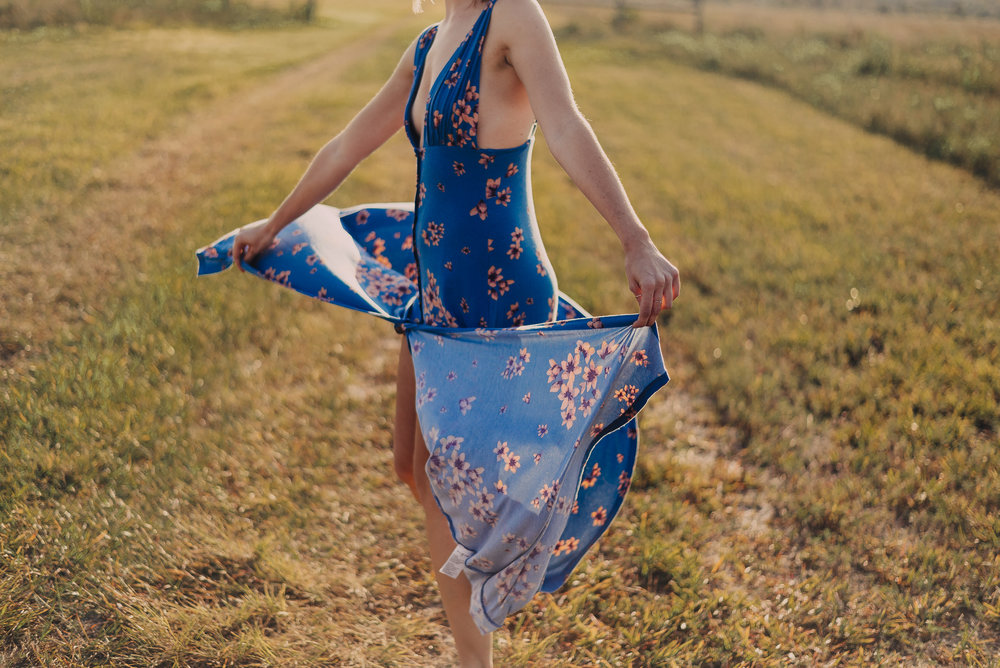 Free People | Other Days Maxi | Katelyn Now | Golden Hour Photo Shoot