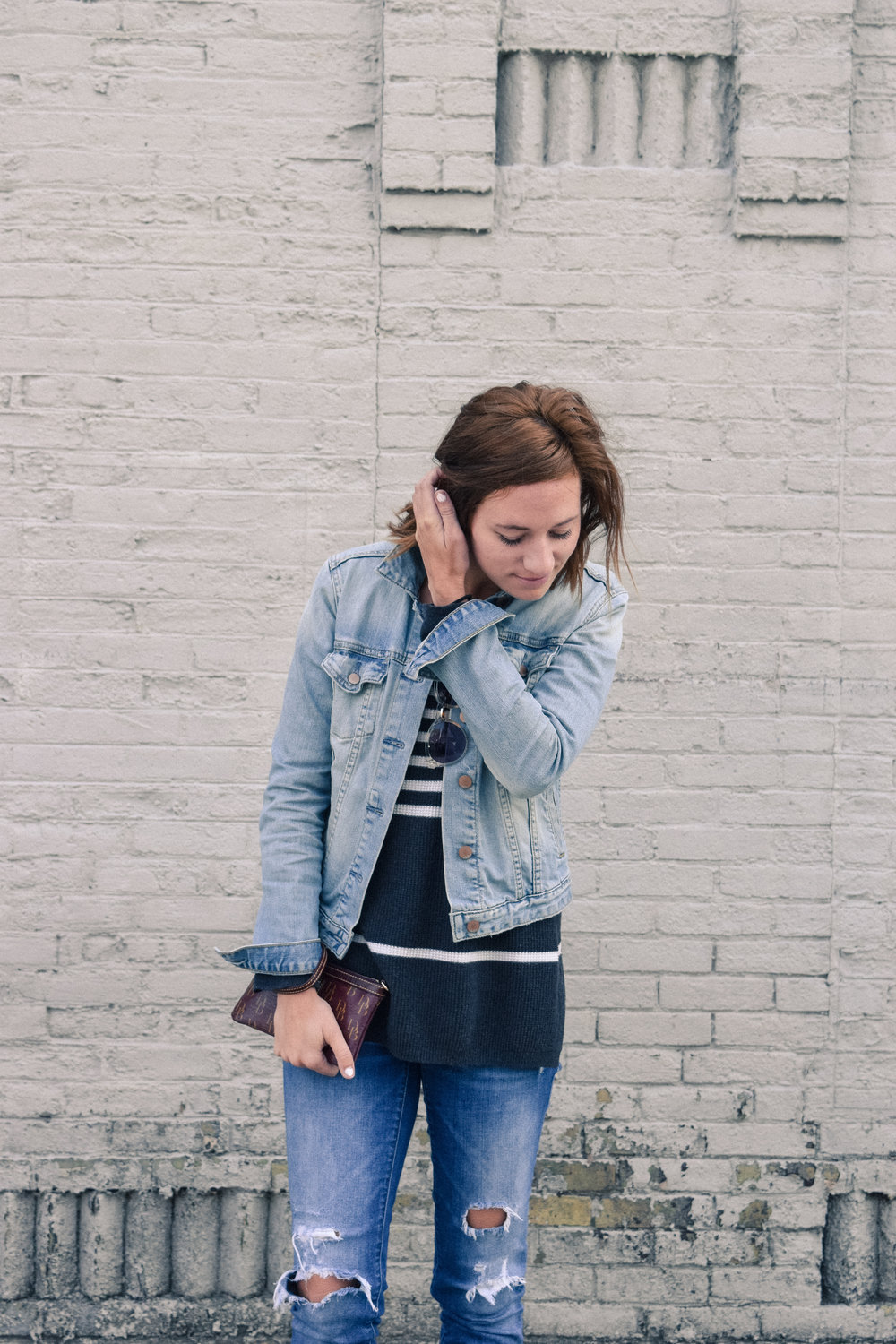 Milwaukee | Denim on Denim | Katelyn Now | Minimalistic Outfit