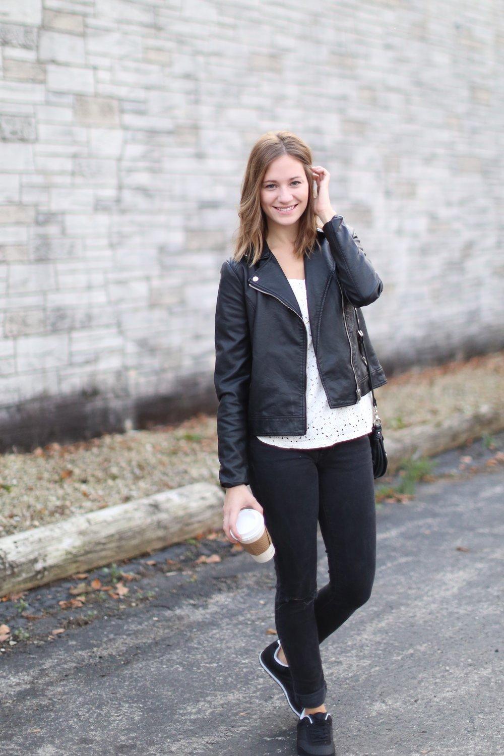 Black on black | Katelyn Now