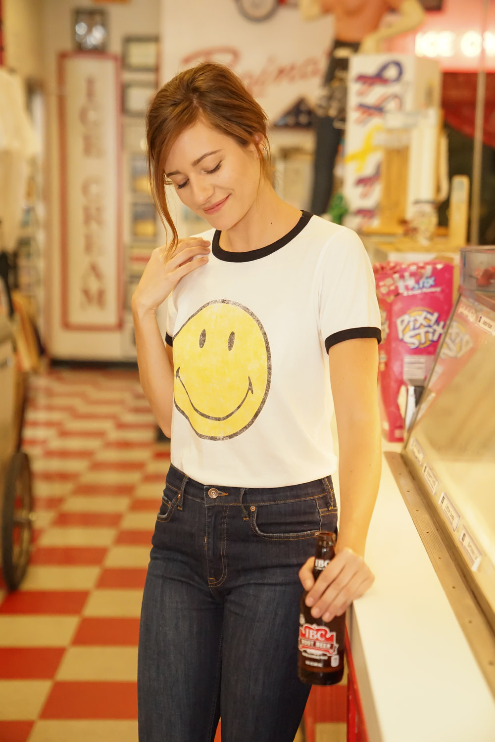 Katelyn Now | Free People | Smiley Tee