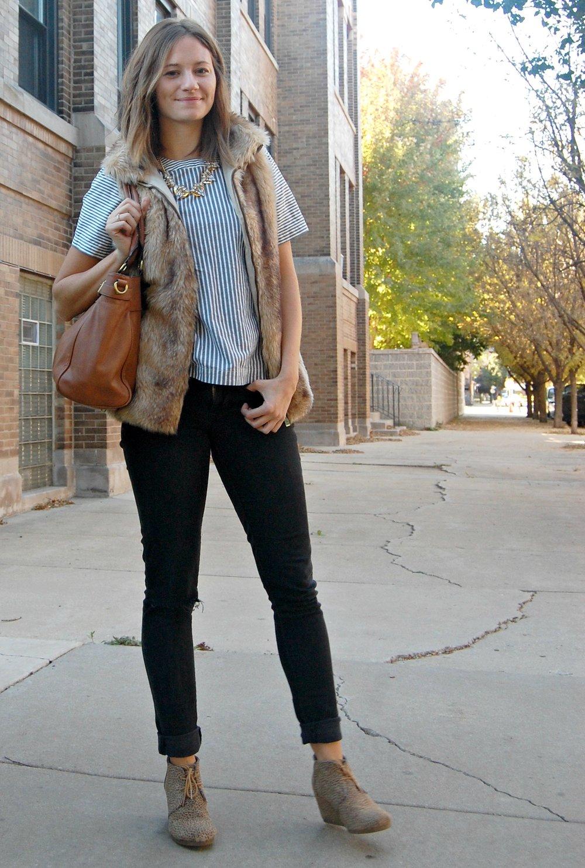 Fur Vest | Katelyn Now