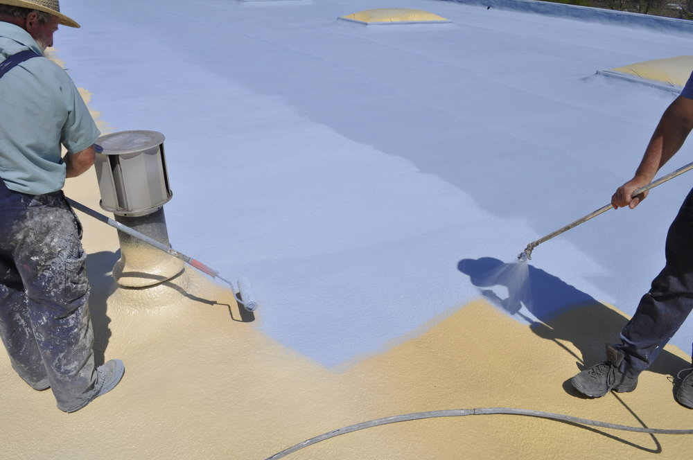 BASF SPF Foam Roof with Poly Elastomeric Coatings.  Up to 30 year extended warranties.  Reduced TCO and increased ROI.