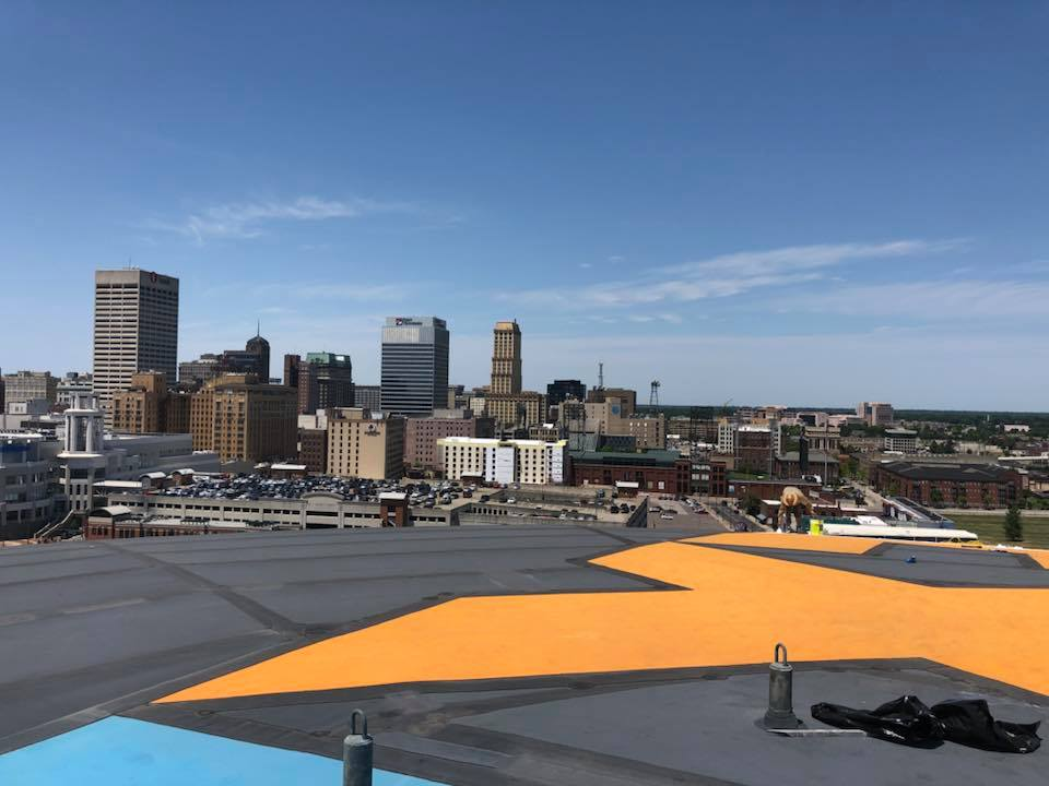 Commercial Roofing Project: FedEx Forum