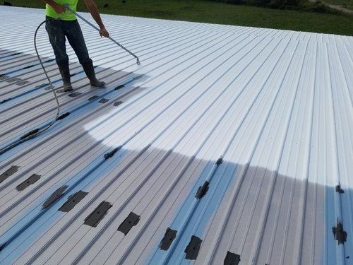 Metal Roof Coatings & Restoration -