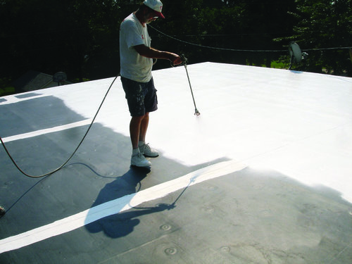 Single Ply Membrane Restoration -