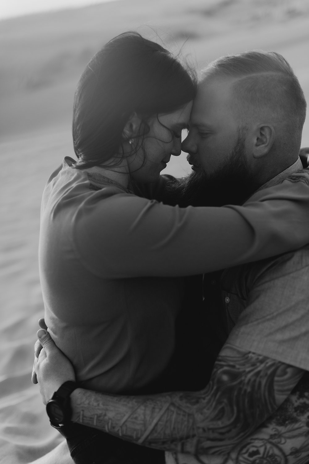 Zandra Barriga Photo - Scott and Kylie Little Sahara Sand Dunes Engagement Photos_0013.jpg