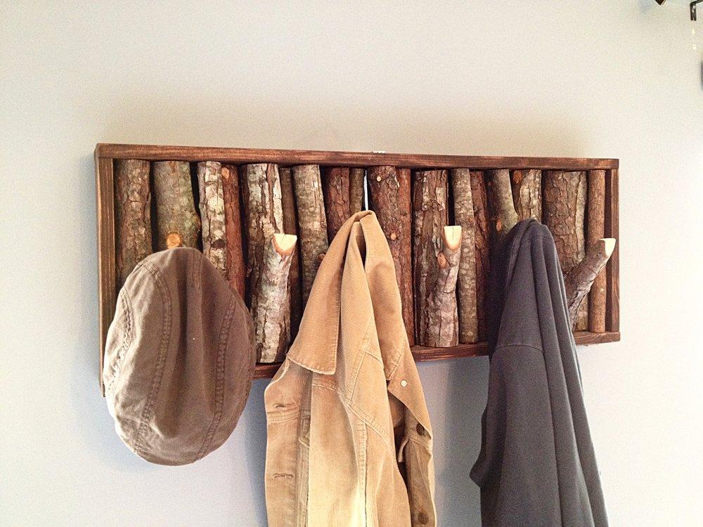 Charming Tree Branch Coat Rack