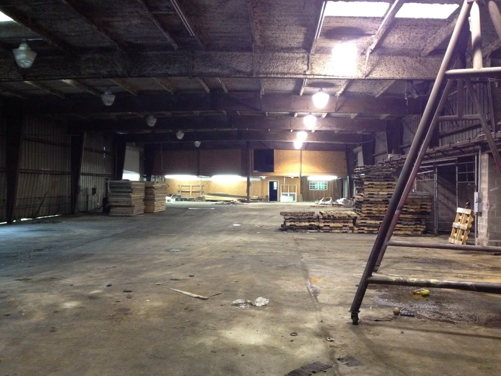 INTERIOR OF WAREHOUSE 1C