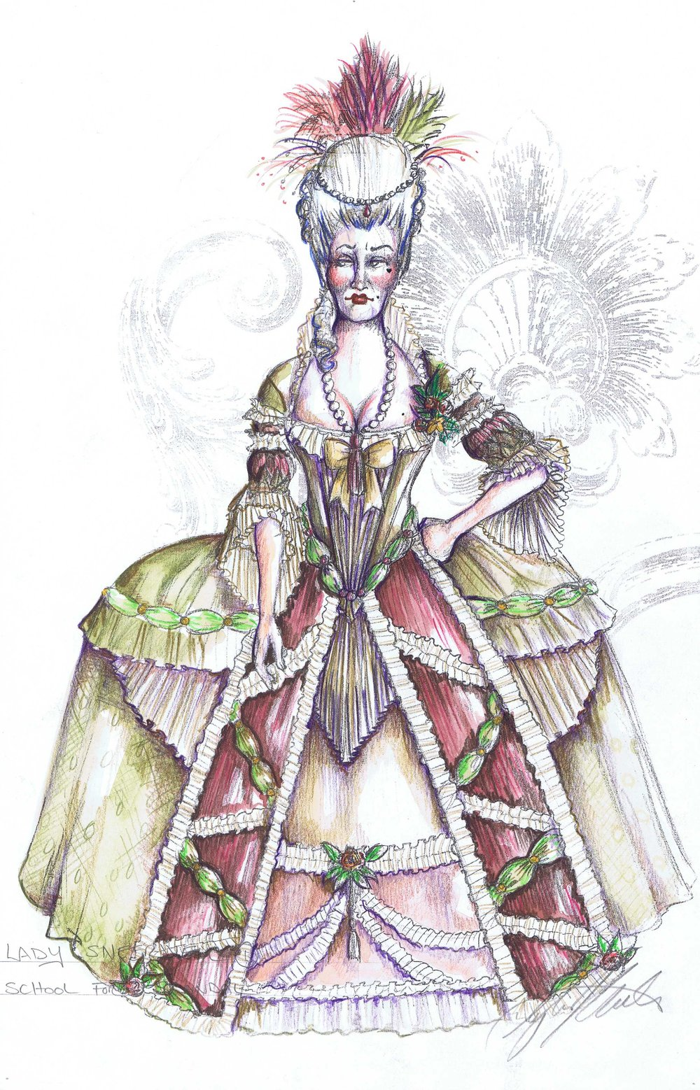 Lady Sneerwell
