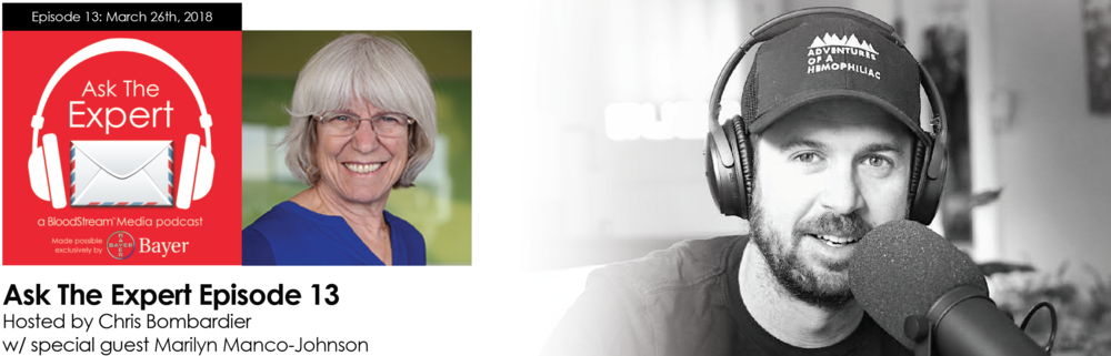 Ask the Expert Episode 13 - Dr. Marilyn Manco-Johnson - Banner.png