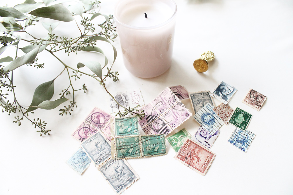 Using Vintage Stamps on Your Wedding Invitations (or other letter ...