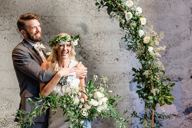 Rustic Chic wedding at the Luce Loft in San Diego California. Full blog breakdown of all the gorgeous wedding details!
