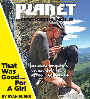 PLANET JH: Woman and Microinequities in Adventure Sports