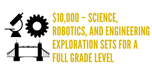 Exploration and discovery are the keys to innovation.  It is crucial to our success as a school that all students have access to structured exploration in science, robotics, and engineers.  This time is an opportunity for them to unlock their creativity and apply their problem solving skills.