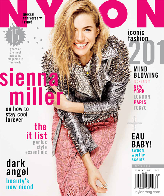 Sienna Miller for NYLON Magazine's 15th Anniversary Issue