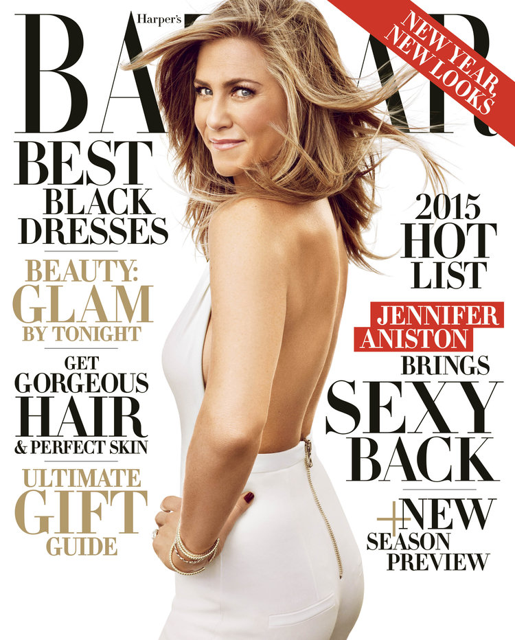 Jennifer Aniston for Harper's Bazaar
