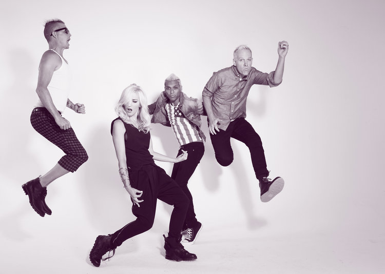 Gwen Stefani and No Doubt photographed by Marvin Scott Jarrett