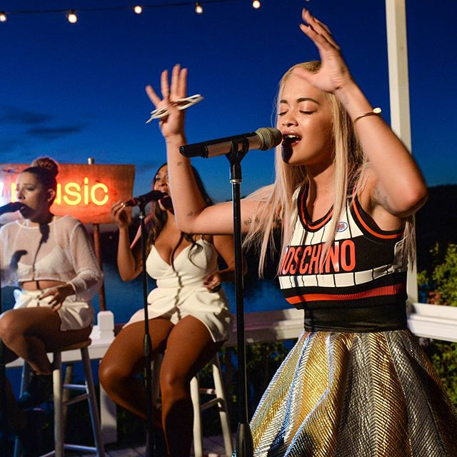Rita Ora for Google Play Music at The Surf Lodge in Montauk