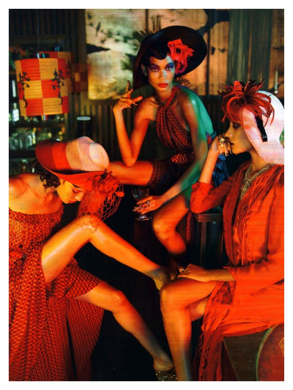 Chanel Iman by Emma Summerton for Italian Vogue