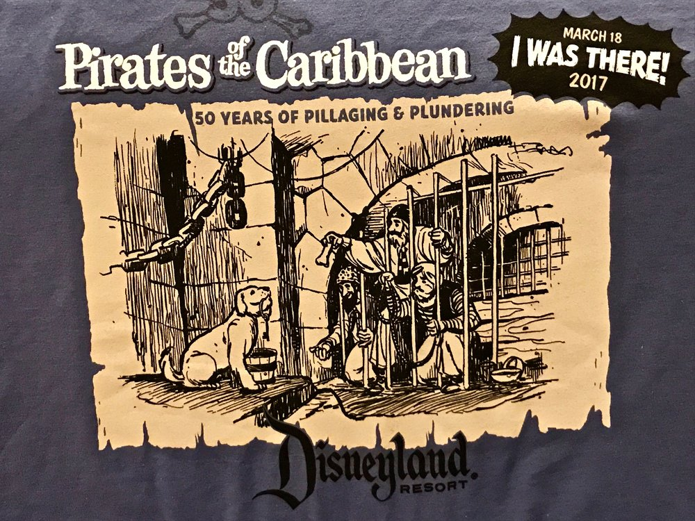 Pirates of the Caribbean 50th shirt