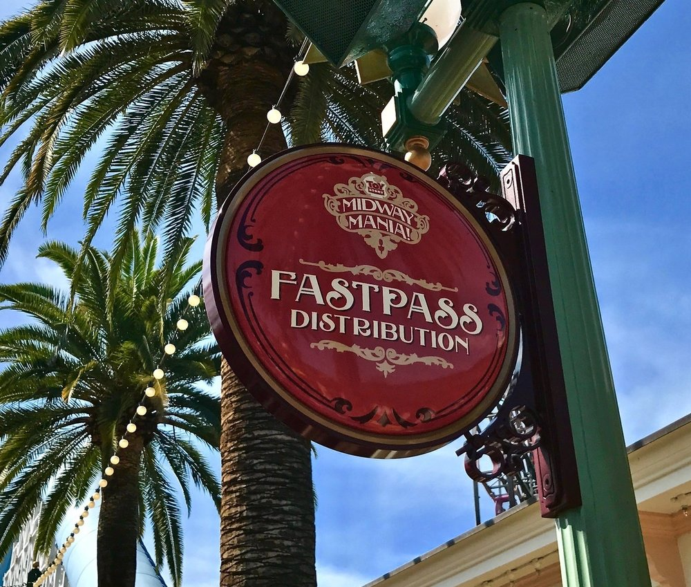 Toy Story Fastpass Disneyland photos