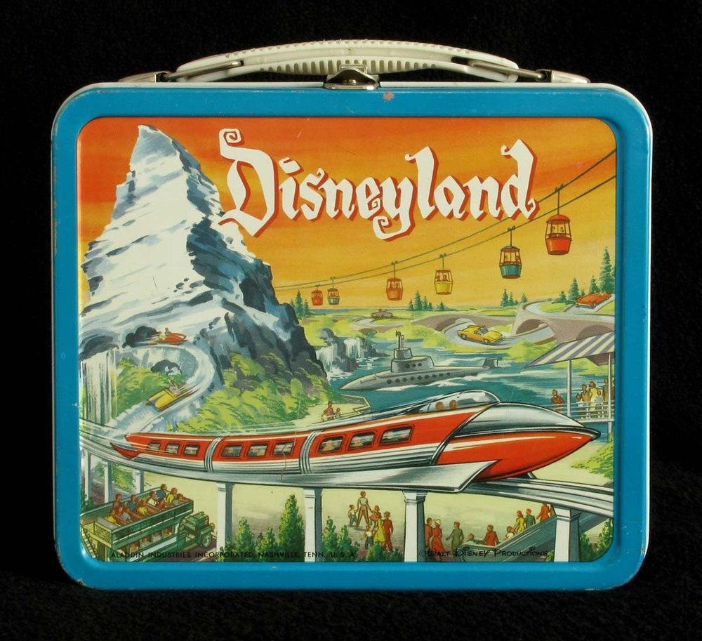 1959 Disneyland lunch box