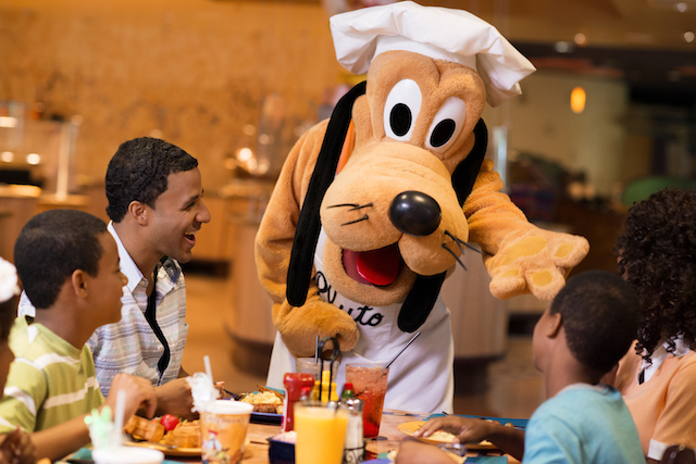 Free Character Dining Meal Disneyland