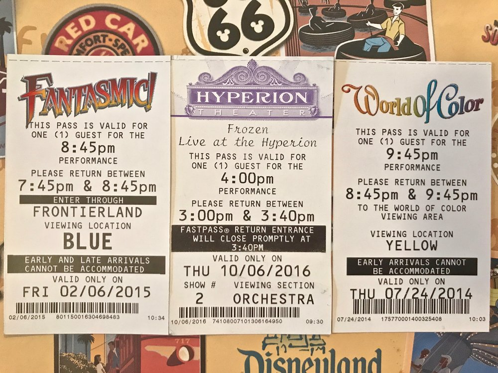 Fastpass History Disneyland