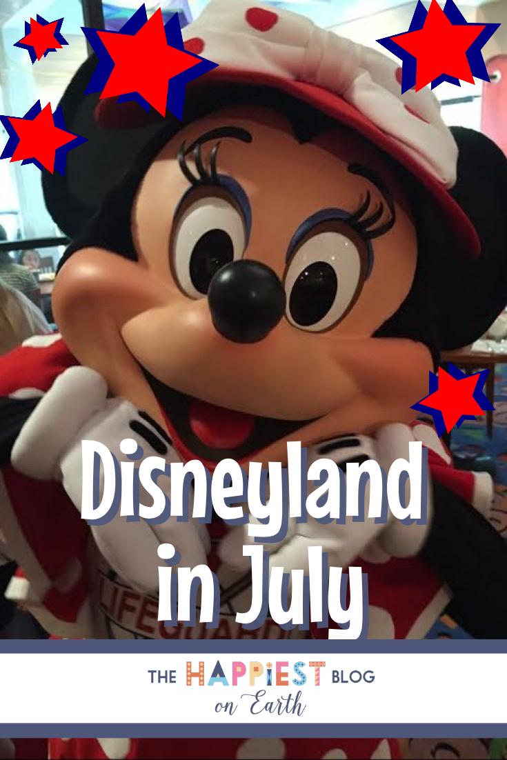Disneyland in July