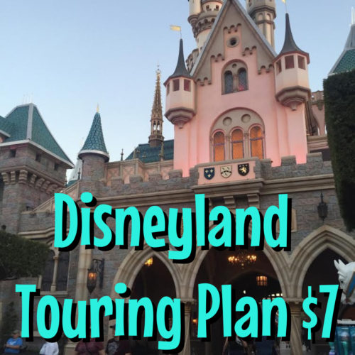 Touring Plan Disneyland