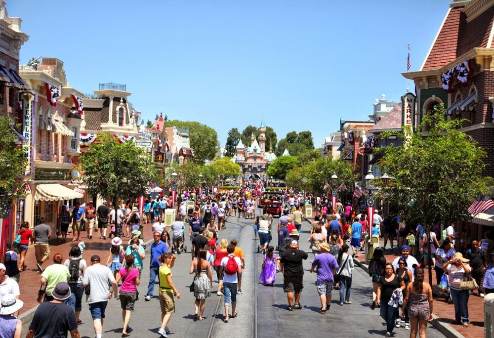 Disneyland July Crowds